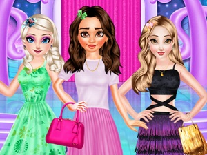 Princesses Different Style Dres