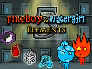 Fireboy and Watergirl 5 Element