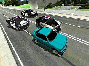 Mad Cop Police Car Race :Police