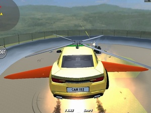 Supra Crash Shooting Fly Cars