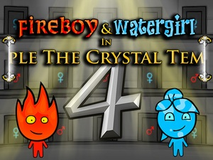 Fireboy and Watergirl 4 Crystal