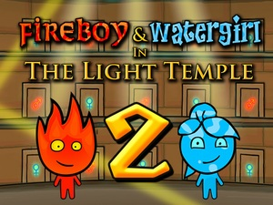 Fireboy and Watergirl 2 Light T