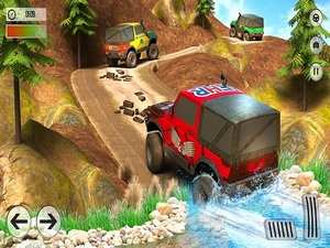 Offroad Jeep Driving Adventure: