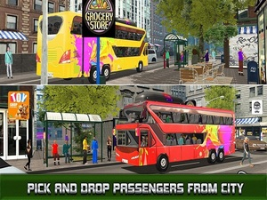 Modern City Bus Driving Simulat