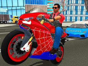 Hero Stunt Spider Bike Simulato