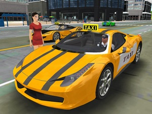 Free New York Taxi Driver 3D Si