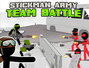 Stickman Army  Team Battle