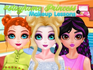 StayHome Princess Makeup Lesson