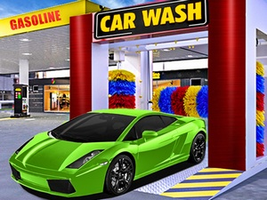Car Wash & Gas Station Simu