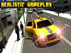 Crazy Taxi Car Simulation Game