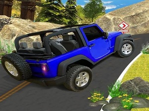 Offroad Hill Climb Jeep Driving
