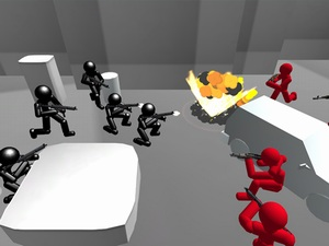 Counter Stickman Battle Simulat