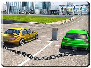Chained Cars Impossible Tracks