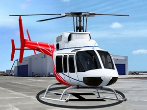 Helicopter Parking and Racing S