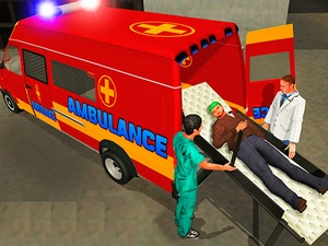 Ambulance Rescue Driver Simulat