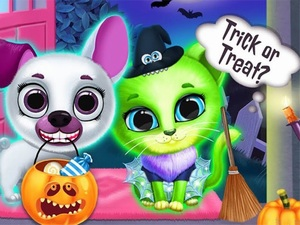 Scary Makeover Halloween Pet Sa