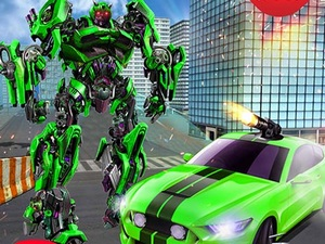 Grand Robot Car Transform 3D Ga