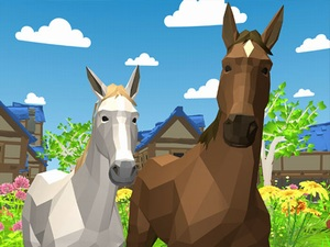 Horse Family Animal Simulator 3