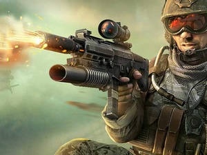 FPS Sniper Shooter: Battle Surv