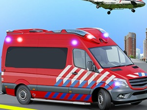 Ambulance Rescue Game Ambulance